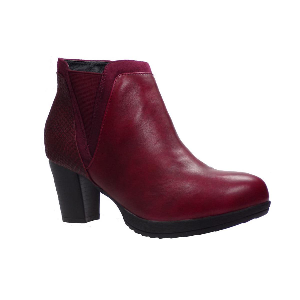 aab1a86aa0b Προσφορά από το BagiotaShoes σε - Envie Γυναικεία Παπούτσια Μποτάκια  24-0634 Μπορντώ Envie 24