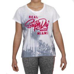 Προσφορά από το All About Sneakers σε   - Superdry Miami Photographic BF Tee W ( G10007XO-AS8 ) - DealFinder.gr