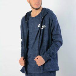 Προσφορά από το Cosmossport σε Nike  - Nike Sportswear Advance 15M Hoodie Knit   Ανδρική Ζακέτα - DealFinder.gr