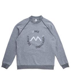 Προσφορά από το Permiadonna σε Mei  - Ανδρική γκρι βαμβακερή μακρυμάνικη μπλούζα φούτερ MEI - DealFinder.gr