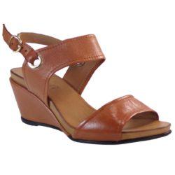 Προσφορά από το BagiotaShoes σε Verosoft  - Verosoft Γυναικεία Πέδιλα Πλατφόρμες 19-222 Ταμπά Δέρμα 88729662 - DealFinder.gr