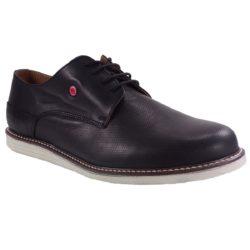 Προσφορά από το BagiotaShoes σε Fratelli Robinson  - Robinson Ανδρικά Παπούτσια 1927 Mαύρο - DealFinder.gr