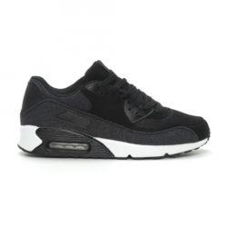 Προσφορά από το Fashionmix σε Jomix  - Ανδρικά μαύρα denim αθλητικά παπούτσια Air - DealFinder.gr