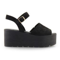 Προσφορά από το Inshoes σε InShoes  - Γυναικείες πλατφόρμες peep toe Μαύρο - DealFinder.gr