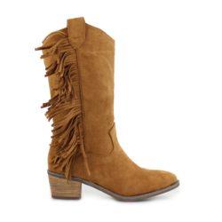 Προσφορά από το Inshoes σε InShoes  - Γυναικείες μπότες με κροσσάκια Ταμπά - DealFinder.gr