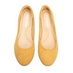 Προσφορά από το Inshoes σε InShoes  - Γυναικείες μπαλαρίνες μονόχρωμες Κάμελ - DealFinder.gr