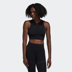 Προσφορά από το Cosmossport σε adidas Performance  - adidas Performance Warp Knit Women's Crop Top (9000045008_1469) - DealFinder.gr