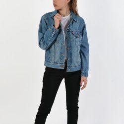 Προσφορά από το Cosmossport σε Levis  - Levis Ex-Boyfriend Trucker - Γυναικείο Jacket (9000026630_26105) - DealFinder.gr