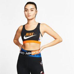 Προσφορά από το Cosmossport σε Nike  - Nike Swoosh Icon Clash Women's Bra (9000043952_43100) - DealFinder.gr