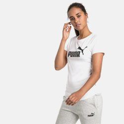 Προσφορά από το Cosmossport σε puma  - Puma Essentials Logo Women's Tee (9000047609_22505) - DealFinder.gr