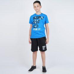 Προσφορά από το Cosmossport σε Target  - Target Παιδικο Σετ T-Shirt Βερμουδα ''Ready Set Go (9000053618_19842) - DealFinder.gr