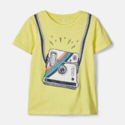 Προσφορά από το Cosmossport σε Name it  - Name it Kids' T-Shirt Male Knit Oco95/Ea5 (9000055739_12680) - DealFinder.gr