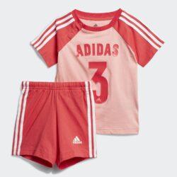 Προσφορά από το Cosmossport σε adidas Performance  - adidas Performance Sport Summer Βρεφικό Σετ Φόρμας (9000057209_47049) - DealFinder.gr