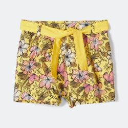 Προσφορά από το Cosmossport σε Name it  - Name it Floral Print Grils' Shorts (9000048327_6104) - DealFinder.gr