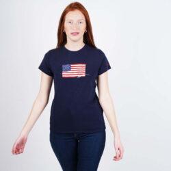 Προσφορά από το Cosmossport σε Polo Ralph Lauren  - Polo Ralph Lauren Navy Flag Women's T-Shirt (9000050516_42083) - DealFinder.gr