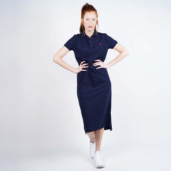 Προσφορά από το Cosmossport σε Polo Ralph Lauren  - Polo Ralph Lauren Women'S Short-SLeeve Polo Shirtdress (9000050504_42083) - DealFinder.gr