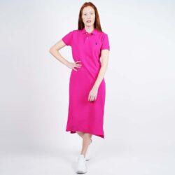 Προσφορά από το Cosmossport σε Polo Ralph Lauren  - Polo Ralph Lauren Women'S Short-SLeeve Polo Shirtdress (9000050503_44936) - DealFinder.gr