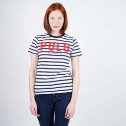 Προσφορά από το Cosmossport σε Polo Ralph Lauren  - Polo Ralph Lauren Striped Women's T-Shirt (9000050513_44948) - DealFinder.gr