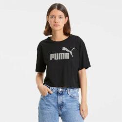 Προσφορά από το Cosmossport σε puma  - Puma Essentials+ Metallic Women's Cropped Tee (9000047545_36669) - DealFinder.gr