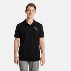 Προσφορά από το Cosmossport σε puma  - Puma Essentials Men's Pique Polo T-Shirt (9000047606_22471) - DealFinder.gr