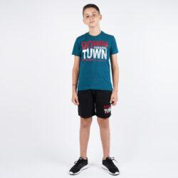Προσφορά από το Cosmossport σε Target  - Target Παιδικο Σετ T-Shirt Βερμουδα ''Downtown'' (9000053620_45895) - DealFinder.gr