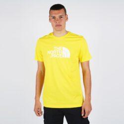 Προσφορά από το Cosmossport σε the north face  - THE NORTH FACE M S/s Easy Tee Tnf Lemon (9000047201_43986) - DealFinder.gr