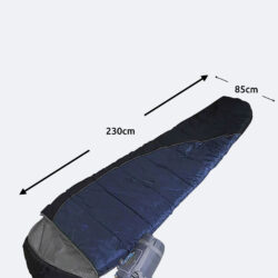 Προσφορά από το Cosmossport σε ESCAPE  - Escape Μονός Υπνόσακος Winter Ii Semi-Mummy 230 X 85 X 65 Cm (9000010953_17029) - DealFinder.gr