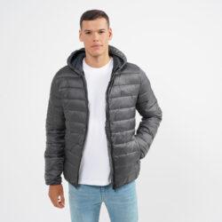 Προσφορά από το Cosmossport σε BODY ACTION  - Body Action Men Padded Jacket With Hood (9000064116_6587) - DealFinder.gr