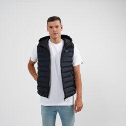 Προσφορά από το Cosmossport σε BODY ACTION  - Body Action Men Zip-Through Quilted Vest With Hood (9000064117_1899) - DealFinder.gr