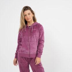 Προσφορά από το Cosmossport σε BODY ACTION  - Body Action Women Velour Hoodie Jacket (9000064115_1903) - DealFinder.gr