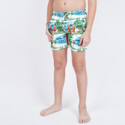 Προσφορά από το Cosmossport σε MC2  - MC2 Jean Kids Swimwear Hawaiian Dream 01 (9000054128_45988) - DealFinder.gr