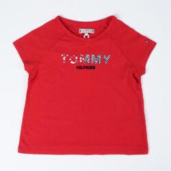 Προσφορά από το Cosmossport σε Tommy Jeans  - Tommy Jeans Floral Logo Infants' T-Shirt (9000051282_45072) - DealFinder.gr