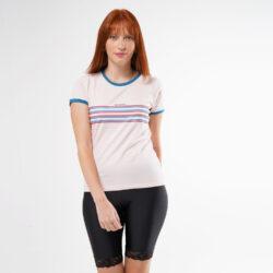 Προσφορά από το Cosmossport σε Basehit  - Basehit Stripes Γυναικεία Μπλούζα (9000050867_15313) - DealFinder.gr