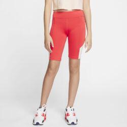 Προσφορά από το Cosmossport σε Nike  - Nike Sportswear Girl's Trophy Bike Short 9In (9000052545_45456) - DealFinder.gr