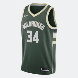 Προσφορά από το Cosmossport σε Nike  - Nike NBA Giannis Antetokounmpo Milwaukee Bucks Icon Edition Men's Jersey (2020610091_29259) - DealFinder.gr