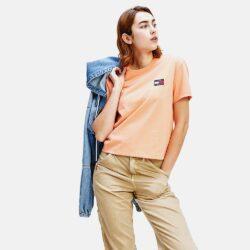 Προσφορά από το Cosmossport σε Tommy Jeans  - Tommy Jeans Tommy Badge Cropped Women's T-Shirt (9000050967_44696) - DealFinder.gr