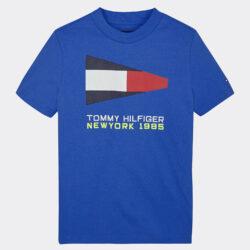 Προσφορά από το Cosmossport σε Tommy Jeans  - Tommy Jeans Sailing Logo Infants' T-Shirt (9000051262_45156) - DealFinder.gr