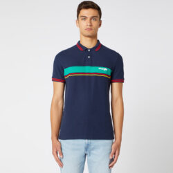 Προσφορά από το Cosmossport σε Wrangler  - Wrangler Colour Block Men's Polo (9000049780_1629) - DealFinder.gr