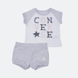 Προσφορά από το Cosmossport σε converse  - Converse Raglan Bubble Short Infant's Set (9000005647_32650) - DealFinder.gr