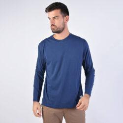 Προσφορά από το Cosmossport σε Franklin & Marshall  - Franklin & Marshall Tshirt Jersey Round Neck Long (9000040440_1629) - DealFinder.gr