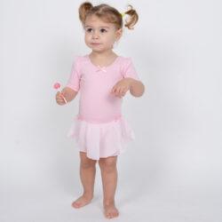 Προσφορά από το Cosmossport σε Go Dance  - Go Dance Παιδικό Κορμάκι με Φούστα (23320530000_27134) - DealFinder.gr