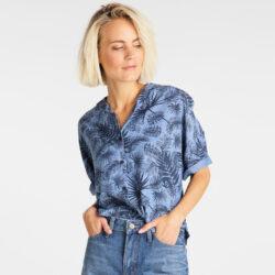 Προσφορά από το Cosmossport σε Lee  - Lee Women'S Floral Resort Shirt (9000049972_4594) - DealFinder.gr
