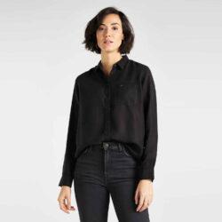 Προσφορά από το Cosmossport σε Lee  - Lee Women'S One Pocket Shirt (9000049957_1469) - DealFinder.gr