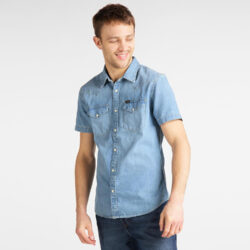 Προσφορά από το Cosmossport σε Lee  - Lee Men's Short SLeeve Shirt (9000049913_41277) - DealFinder.gr