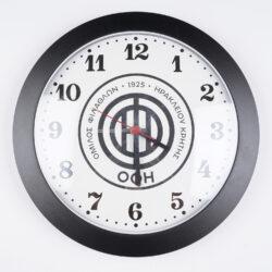 Προσφορά από το Cosmossport σε OFI OFFICIAL BRAND  - OFI FC OFFICIAL Πλαστικό Ρολόι Τοίχου (9000066900_1480) - DealFinder.gr
