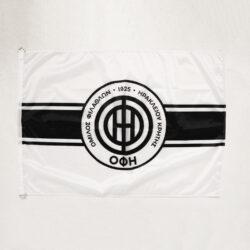 Προσφορά από το Cosmossport σε OFI OFFICIAL BRAND  - OFI OFFICIAL BRAND Σημαία 70x100 white (9000065777_1540) - DealFinder.gr