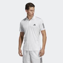 Προσφορά από το Cosmossport σε adidas Performance  - adidas Performance 3-Stripes Club Polo Ανδρικό Πόλο T-Shirt (9000024113_1540) - DealFinder.gr