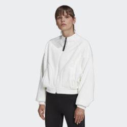 Προσφορά από το Cosmossport σε adidas Performance  - adidas Performance Karlie Kloss Teddy Cover-Up Γυναικεία Ζακέτα (9000059104_18119) - DealFinder.gr