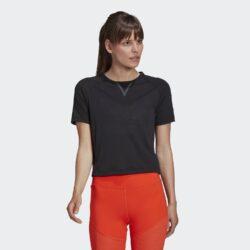 Προσφορά από το Cosmossport σε adidas Performance  - adidas Performance Crop Karlie Kloss Fitness Γυναικείο Μπλουζάκι (9000058643_1469) - DealFinder.gr