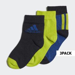 Προσφορά από το Cosmossport σε adidas Performance  - adidas Performance 3-Pack Παιδικές Κάλτσες Αστραγάλου (9000058045_47310) - DealFinder.gr